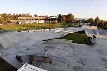 Nový skatepark ve Frýdku.