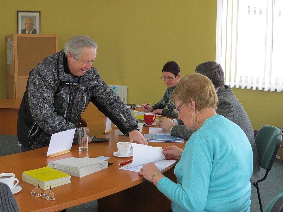 První kolo prezidentských voleb v obci Sviadnov.