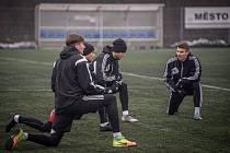 Fotbalisté Třince v přípravě ani napodruhé nevyhráli.