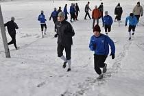 Frýdlantští fotbalisté absolvovali kondiční soustředění v nedaleké Nové Vsi.