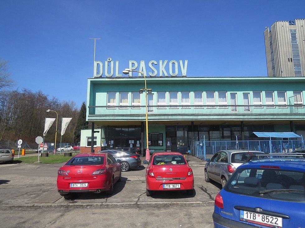 Areál Dolu Paskov ve Staříči v pátek 31.března 2017, kdy oficiálně skončila těžba černého uhlí.