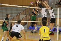 Volejbalisté Black Volley Beskydy zakončili letošní základní část prvoligové soutěže na 2. místě.