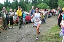 Petra Pastorová (kat. ženy B) byla ze všech závodnic nejrychlejší.