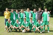 Fotbalisté Vojkovic byli na turnaji nejlepší.