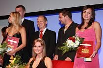 Petra Ferfecká (vpravo) při korunovaci v Brně.