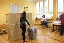 Volby 2020, Frýdek-Místek, 7. základní škola, 2. října.