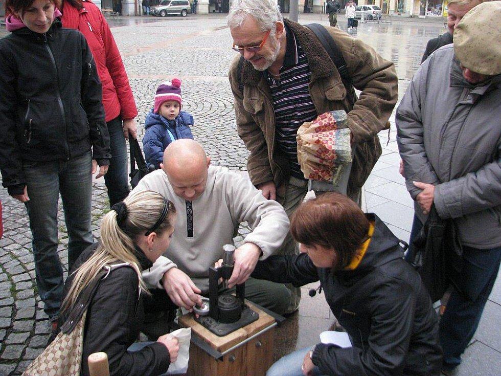 Ve Frýdku-Místku v sobotu 24. října proběhnul další Den s průvodcem, tentokrát byl věnován místecké části města.