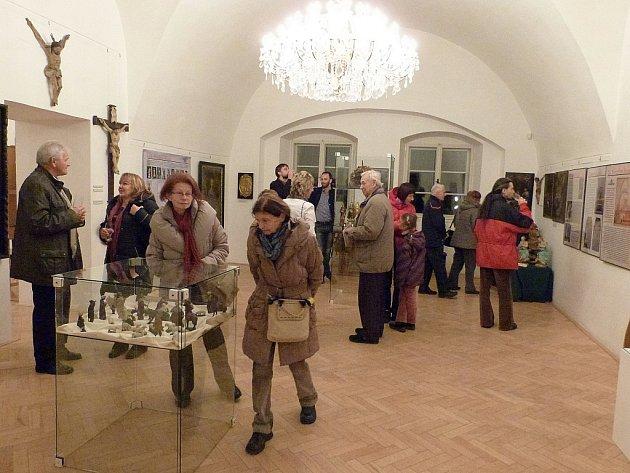 Výstava na zámku potrvá do konce ledna.