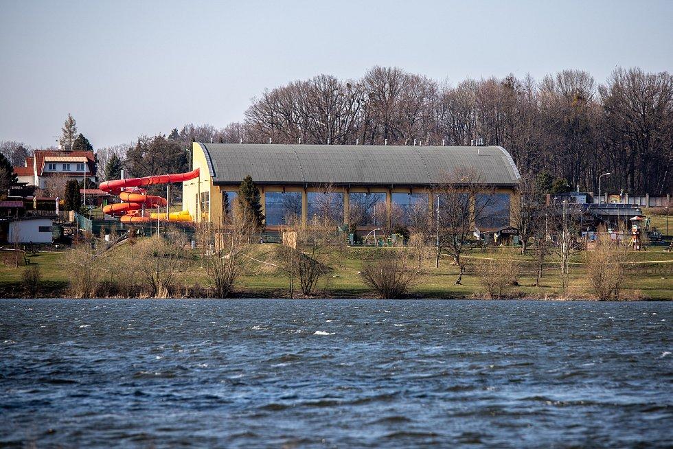 Aquapark Olešná, 24. března 2020 ve Frýdku-Místku.