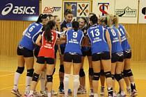 Volejbalistky Frýdku-Místku narazily v letošním čtvrtfinále nejvyšší soutěže na silný tým SK UP Olomouc.