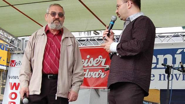 Starosta Frýdlantu nad Ostravicí Jiří Mořkovský v debatě s šéfredaktorem René Stejskalem na Dni s Deníkem, dva dny před zasedáním zastupitelstva, hovořili o několika palčivých problémech města.