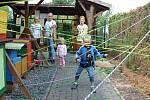 V naučném včelařském areálu v Chlebovicích se uskutečnila akce Ve včelím království.