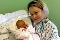 Adéla Lázničková s maminkou, Třinec, nar. 24. 5., 52 cm, 3,61 kg, Nemocnice Třinec.