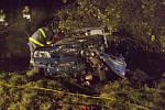 Nehodu u Bašky nepřežili v říjnu 2008 dva lidé.