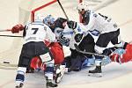 Utkání 2. kola hokejové extraligy: HC Oceláři Třinec - HC Plzeň (10. září 2017).