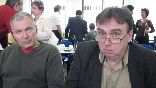 V Třinci chybí radní. Nebo nechybí? Možnými kandidáty jsou teoreticky také Stanislav Sajdok (vlevo) a Jiří Möhwald (vpravo),