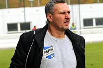 Trenér fotbalistů Frýdku-Místku Milan Duhan.