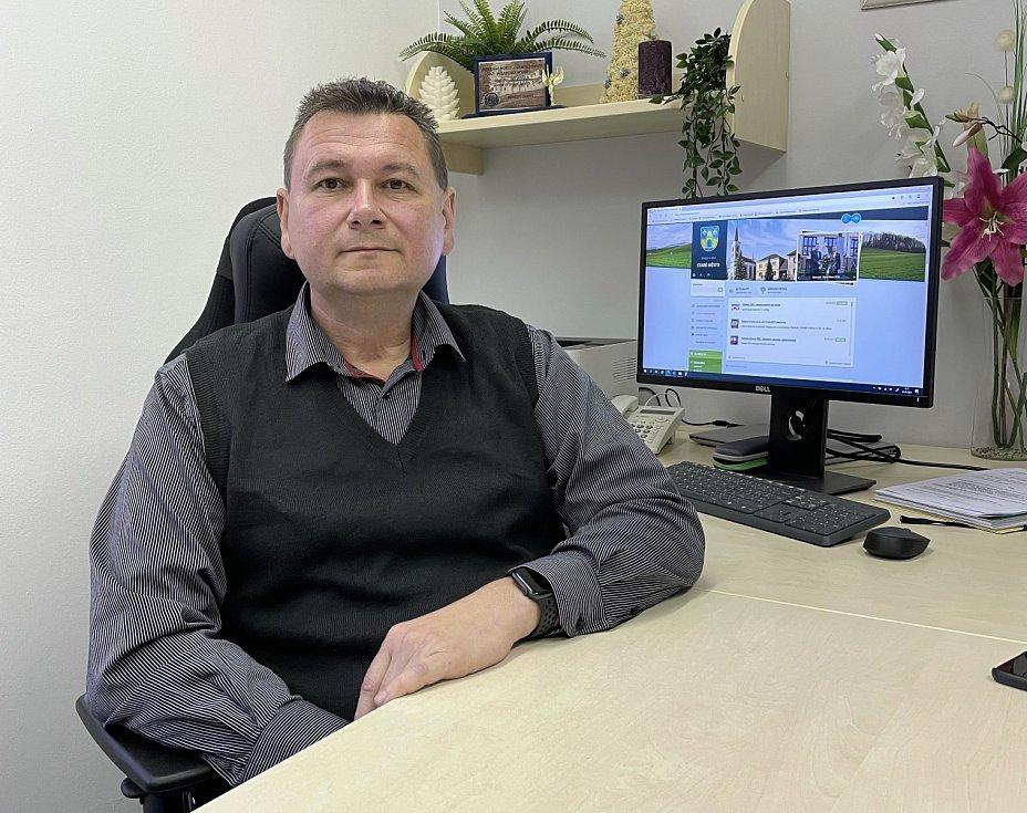 Starosta Starého Města Jiří Roško.