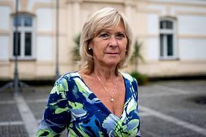 Městský úřad ve Frýdlantu nad Ostravicí, 5. srpna 2020. Starostka Helena Pešatová.