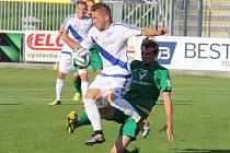 Také druhé domácí utkání podzimní sezony FNL fotbalisté Frýdku-Místku zvládli, když porazili těsným rozdílem Vlašim 1:0.