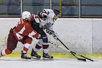 Na opavské hokejisty to svěřencům trenéra Radima Nečase nejde. Frýdek totiž s Opavou prohrál i potřetí v této sezoně. Ilustrační foto.