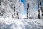 Mnoho lidí vyrazilo do Beskyd za zimními radovánkami, přestože lyžařské areály a hotely jsou nyní uzavřené kvůli vládním opatřením.