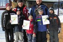 Ski Jumping Team TJ Sokol Kozlovice - JRKL Desná v Jizerských horách.