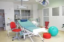 Jeden z nových porodních sálů ve frýdecko-místecké nemocnici.