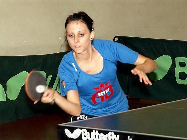 Lucie Chlebcová z frýdlantského SK.