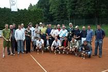 Na třineckých kurtech se uskutečnil již 26. ročník Mistrovství celní správy v tenise.