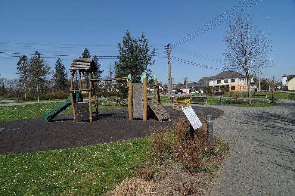 Dětské hřiště ve Fryčovicích.