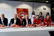 Představitelé třineckého klubu nastínili ambice a cíle Ocelářů pro novou soutěžní sezonu 2018-2019.