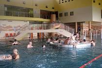 Aguapark u přehrady Olešná ve Frýdku-Místku