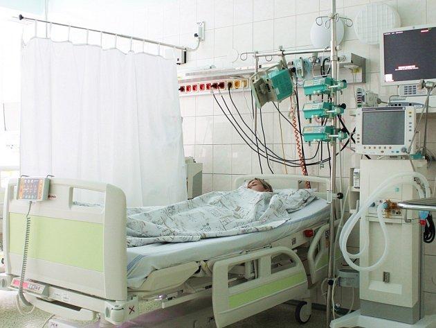 Nové lůžko v třinecké Nemocnici Podlesí.