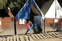 Letní tábor uprostřed lesů ve Starých Hamrech