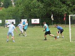 Na hřišti v Měrkovicích proběhl v sobotu tradiční fotbalový turnaj. Jeho 39. ročník byl výjimečný, protože byl spojen s oslavou 225 let od založení osady.