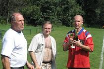 Fotbalový oddíl TJ Durman Staré Město uspořádal o minulé sobotě 4. ročník fotbalového turnaje pro staré gardy – Memoriál Ondřeje Čapčucha a Josefa Lišky.