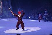 Páteční premiéra muzikálu Sněhurka na ledě v Třinci.