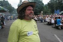 Mluvčím Bierfestu je nýdecký řezbář Jan Vitásek.