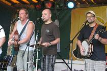 Skupina Děda Mládek Illegal Band.