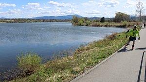 Voda v přehradách má dobrou kvalitu.