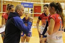 Volejbalistky Frýdku-Místku prohrály na Hané hladce ve třech setech.