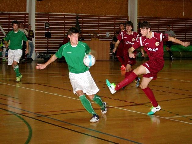 Futsalisté druholigového Likopu Třinec porazili hráče Vyškova i podruhé v letošní sezoně. Po výhře 5:3 na půdě soupeře vyhráli Cieslarovi svěřenci i v domácím prostředí. Ilustrační foto.