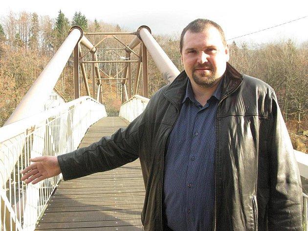 Starosta Ostravice Miroslav Mališ.