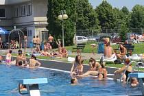 Letní koupaliště v Třinci. Ilustrační snímek.