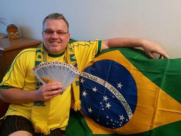 Pavel Prudký navštívil vBrazílii pět utkání, které se všechny odehrály na největším brazilském stadionu Maracaná vRio de Janeiru.