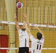 Volejbalisté Beskyd se porvou o postup s hráči Starého Města.