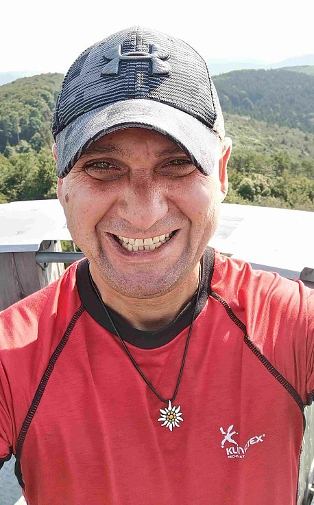 Báňský záchranář a milovník hor Radim Kašpar z Havířova.