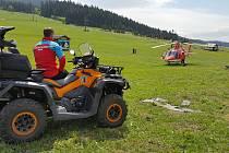Alergika v Beskydech pobodaly vosy, pomáhali záchranáři i horská služba.