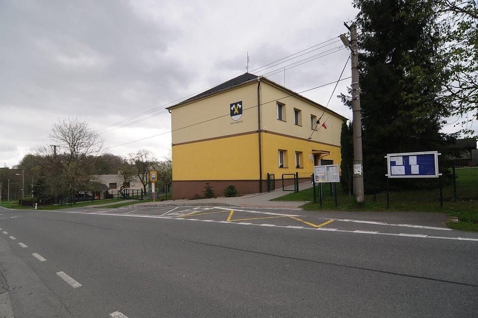 Obecní úřad v Kaňovicích.
